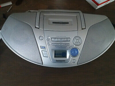 poste radio cd k7 panasonic rx-es22