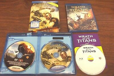 Clash Of The Titans/wrath Of The Titans (Blu-Ray Set) (Fast Free Shipping)