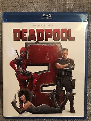 Deadpool 2 (Blu-ray, 2018) No Digital