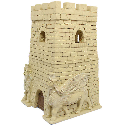 Desert Guard Tower Painted 28mm Persian Assyrian Wargame Terrain SHIP WORLD WIDE