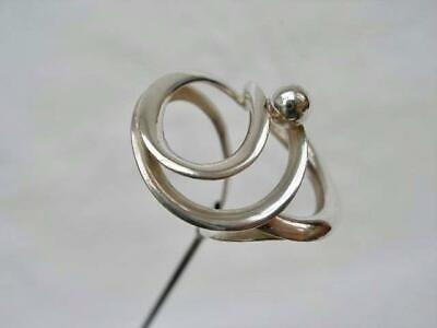 Fine Antique Hallmarked Sterling Silver Hat Pin by Charles Horner. Chester 1913