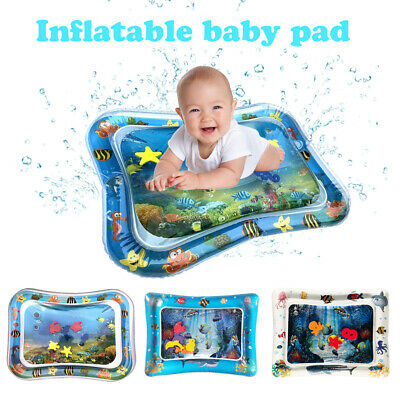Baby Kids Inflatable Water Play Mat Toddlers Fun Tummy Time Play Activity Center