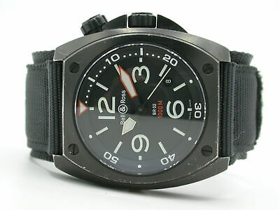 Bell & Ross Br02-20 Diver Automatic Mens Pvd Coated/Stainless Steel Case
