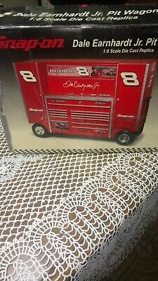 70e26c4996f Snap On Dale Earnhardt Jr Pit Wagon 1 8 Scale Die Cast Replica Tool Box