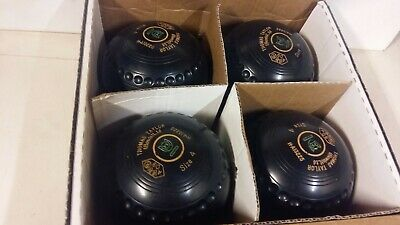 Thomas Taylor Crown Green Bowls - SIZE 4