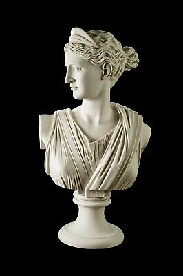 Diana The Huntress Marble Bust (Large), Greek Goddess, Classical  Sculpture.