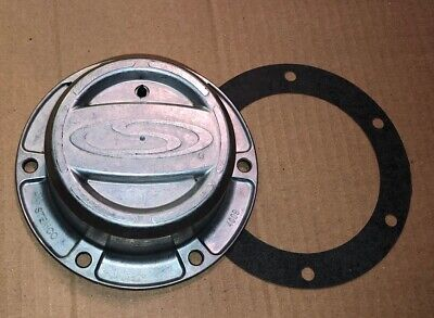 Genuine Stemco 6 hole Grease Hub Cap 352-4009 Includes Gasket