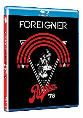 Foreigner Blu-Ray - Live At The Rainbow '78 (2019) - New - Rock