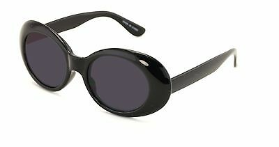 f523b03b2d Bold Retro Oval Mod Thick Frame Sunglasses Clout Goggles with Round Lens  UV400 b