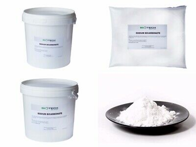 SODIUM BICARBONATE of Soda | 100% BP/Food Grade | Bath, Baking | 1kg - 20kg