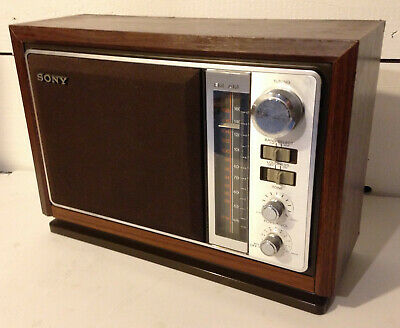 Sony Tabletop 2-Band Am/fm Radio Icf-9740W—Excellent!