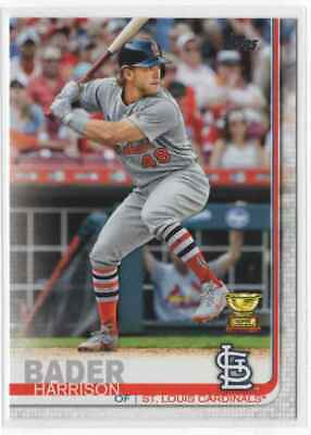 2019 Topps Series 1 Rookie Cup Harrison Bader Rookie St. Louis Cardinals #97