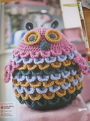 KING COLE 9016 OWL CUSHIONS//OWL TOY//OWL DOORSTOP ORIGINAL KNITTING PATTERN