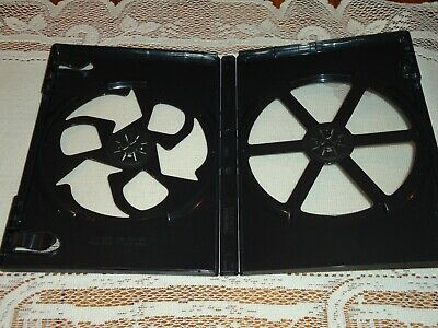 NEW 2-Disc DVD Viva Eco-Box Black REPLACEMENT empty CASE