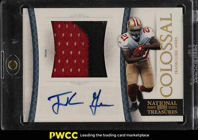 2011 National Treasures Colossal Prime Frank Gore ROOKEI RC AUTO PATCH /5 (PWCC)