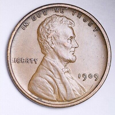 AU 1909 VDB Lincoln Wheat Cent Penny FREE SHIPPING