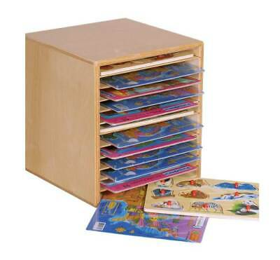 Kid's Play 2-in-1 Tabletop Puzzle Rack [ID 84069]