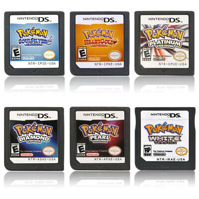 Pokemon SoulSilver/HeartGold Version Game Card for Nintendo 3DS NDSI NDS Lite