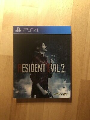 Resident Evil 2 Remake Lenticular Edition Ps4 Playstation 4