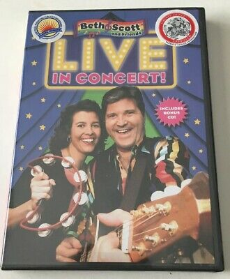 Beth & Scoot And Friends Live In Concert DVD (2007)