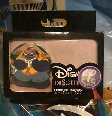 Disney Disguises A Lot Two Pin Box With Jumba And 2nd Random Pin LE 1000 Each