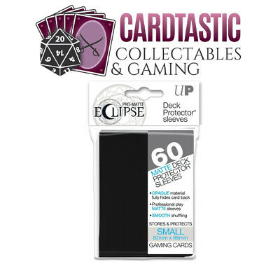 Ultra Pro Pro-Matte Eclipse Deck Protector Sleeves Small 60ct Black