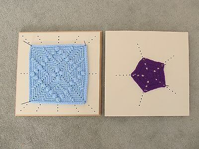 Crochet Blocking Board DOUBLE SIDED for Blocking ALL Shapes