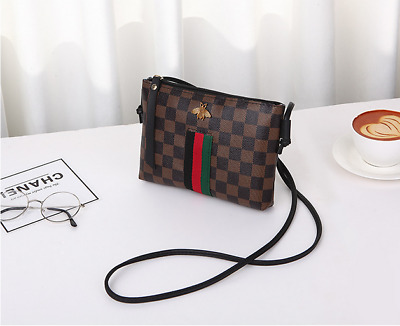 New Women Fashion Leather Small Shoulder Bag Ladies Crossbody Bag Handbag PU