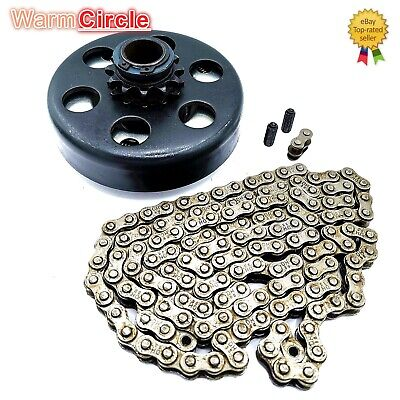 "Engine 212Cc Centrifugal Clutch 3/4"" Bore 12 Tooth+ 35 Chain Kit For Go Kart Bp"