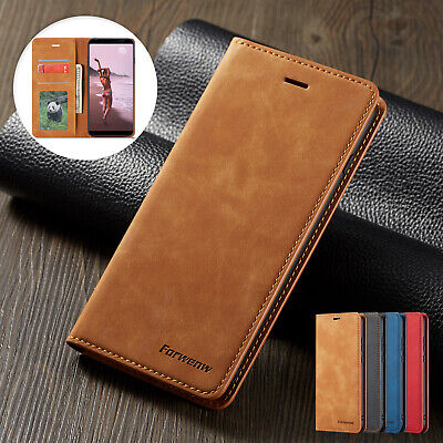 For OPPO A73 Magnet Wallet Card Holder Case Leather Protective Flip Stand Cover
