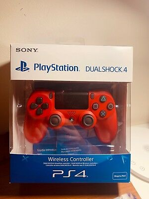 Controller Ps4 Dualshock 4 Magma Red- Playstation 4 V2 Nuovo