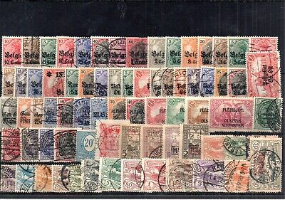 Old stamps of Germany used collection III.