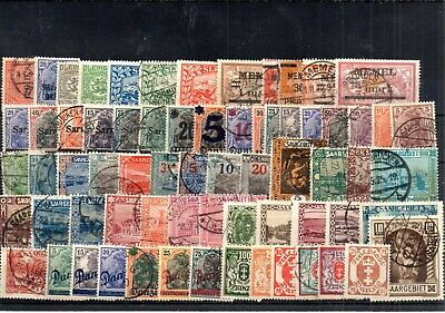 Old stamps of Germany used collection IV.