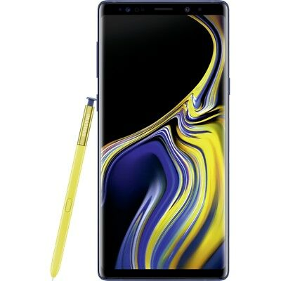 Samsung Galaxy Note 9 N960F 128GB ocean-blue Android Smartphone Handy LTE/4G