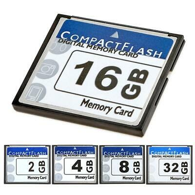 CF Memory Card Compact Flash 2/4/8/16/32GB Speicher CF Karte Für Digital Camera