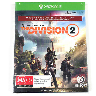 Tom Clancy's The Division 2 Washington Edition Xbox One Clancys New Sealed
