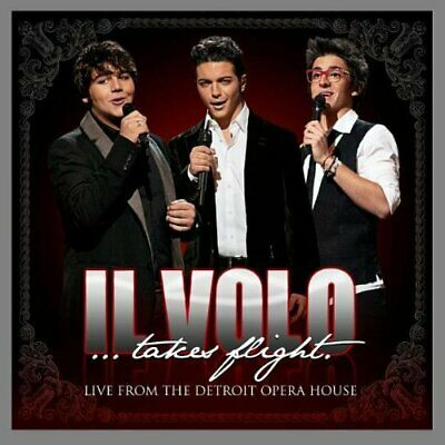 Il Volo - Il Volo...Takes Flight - Live from Detroit Opera House CD NEW