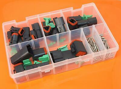 Genuine Deutsch DT Series Assorted Electrical Connector Box Set - 144 Pieces