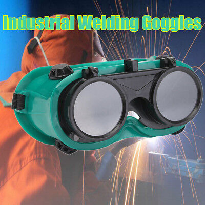 2pcs Square Goggles Welders Glasses Flip Up for Soldering Welding Cutting Safety