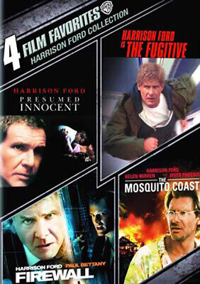 Presumed Innocent / The Fugitive (1993) / Firewall / The Mosquito Coast DVD NEW
