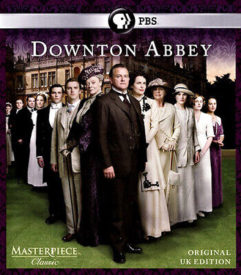 Downton Abbey: Season 1 (First Season) (2 Disc, Original UK Edition) BLU-RAY NEW