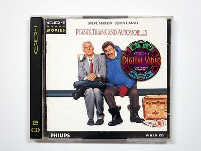 PLANES TRAINS & AUTOMOBILES - PHILIPS CD-i VIDEO CD