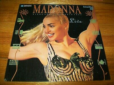 MADONNA: BLOND AMBITION WORLD TOUR LIVE Laserdisc LD VERY GOOD CONDITION MUSIC