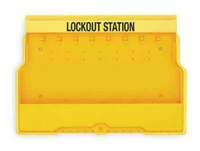 New! Master Lock Lockout Station Model 1850, Unfilled