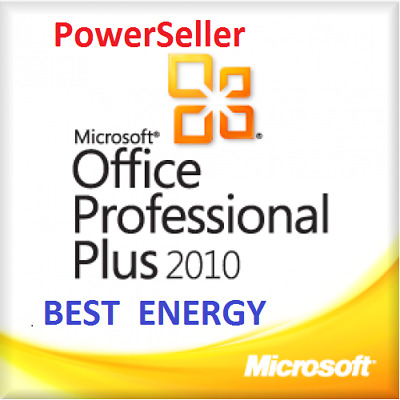 MICROSOFT OFFICE 2010 PROFESSIONAL PLUS 32/64 BIT- Fatturabile - Originale