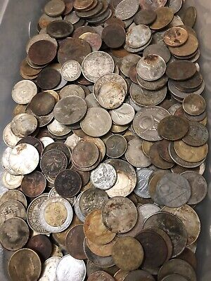 300+ World Foreign Coins Bulk Lot Antique & Vintage Silver Copper & Cupronickel