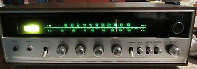 Sansui 350A Vintage AM/FM Stereo Receiver Works Great Nice Sound! Solid State