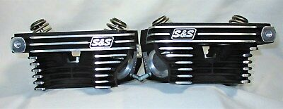 S&S Cycle Super Stock Heads for 2006 - 2016 Big Twin Harley Davidson
