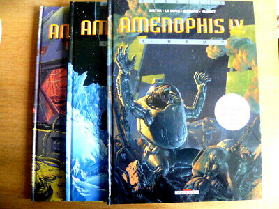 Lot Bd Amenophis Iv . 1 2 3 Editions Originales