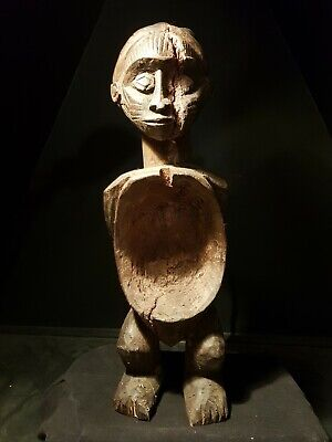 Large congo fetish Style Carving. African Tribal Art Statue